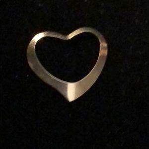 Jewelry - 14k floating heart pendant